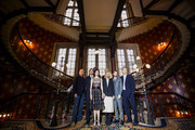 "(L-R) Rory Kinnear, Josh Harnett, Danny Sapani, Eva Green, Sam Mendes, Billie Piper, Harry Treadway and Timothy Dalton attends a photocall for Sky Atlantic's ""Penny Dreadful"" at St Pancras Renaissance Hotel on May 12, 2014 in London, England."