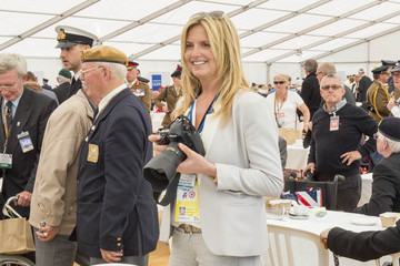Penny Lancaster The 70th Anniversary of D-Day Landings Commemorated