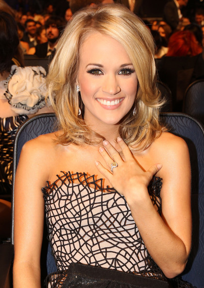 People's Choice Awards 2010 - Inside. In This Photo: Carrie Underwood