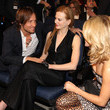 She mingles with Keith Urban and Nicole Kidman at awards shows.