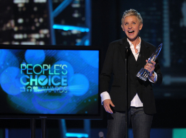 Эллен ДеДженерес получает People's Choise Awards