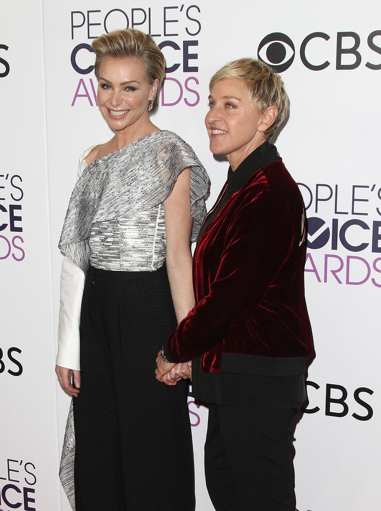 Ellen DeGeneres and Portia de Rossi Photos Photos - People ...