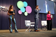 Damaris Diaz, William Levy, and Maria Morales speak on stage during People en Español 6th Annual Festival to Celebrate Hispanic Heritage Month - Day 2 on October 06, 2019 in New York City.