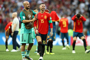 Pepe Reina Spain vs. Russia: Round of 16 - 2018 FIFA World Cup Russia