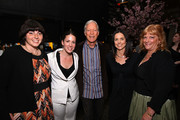 (L-R) Jennifer Dubin, Coro Olsen, Richard Chamberlain, Anne Renton and  Connie Cummings attend The Perfect Family's premiere after-party at the Tribeca Film Festival, presented by American Express at Thom Bar on April 24, 2011 in New York City.