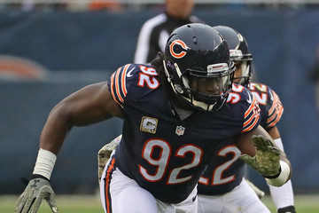 Pernell McPhee Tennessee Titans v Chicago Bears