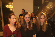 Julia Malik, Susan Hoecke and Lena Doerrie attend the Perret Schaad Show during the Mercedes-Benz Fashion Week Berlin Autumn/Winter 2015/16 at Kronprinzenpalais on January 21, 2015 in Berlin, Germany.
