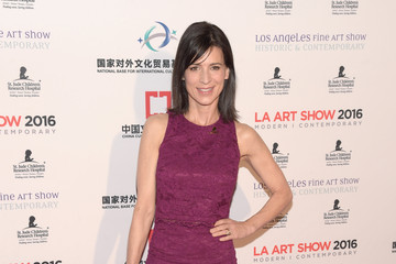 Perrey Reeves LA Art Show and Los Angeles Fine Art Show's 2016 Opening Night Premiere Party Benefiting St. Jude Children's Research Hospital - Arrivals