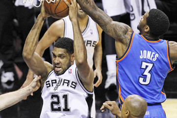Perry Jones Oklahoma City Thunder v San Antonio Spurs