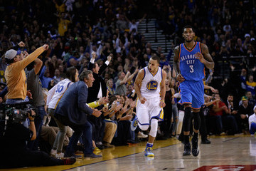 Perry Jones Oklahoma City Thunder v Golden State Warriors