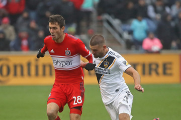Perry Kitchen Elliot Collier Los Angeles Galaxy vs. Chicago Fire