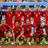 Simon Kjaer Nicolai Jorgensen Photos - The Denmark team line up ahead of the 2018 FIFA World Cup Russia group C match between Peru and Denmark at Mordovia Arena on June 16, 2018 in Saransk, Russia. - Peru vs. Denmark: Group C - 2018 FIFA World Cup Russia