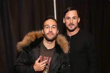 Pete Wentz Philipp Plein - Backstage - February 2017 - New York Fashion Week: The Shows