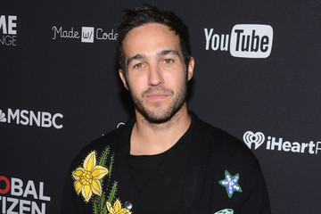 Pete Wentz 2016 Global Citizen Festival in Central Park to End Extreme Poverty by 2030 - VIP Lounge
