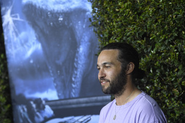 Pete Wentz Jurassic World-The Ride' Grand Opening Celebration