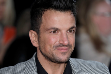 Peter Andre National Television Awards - Red Carpet Arrivals