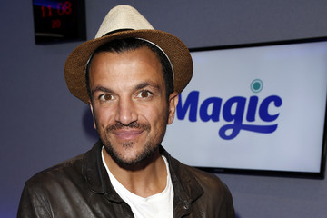 Peter Andre Peter Andre Visits Magic Radio