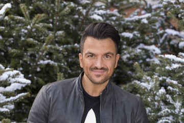 Peter Andre Peter Andre Visits The Ideal Home Show at Christmas