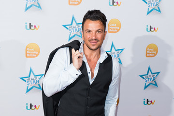 Peter Andre Good Morning Britain Health Star Awards