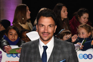 Peter Andre Pride Of Britain Awards 2018 - Red Carpet Arrivals