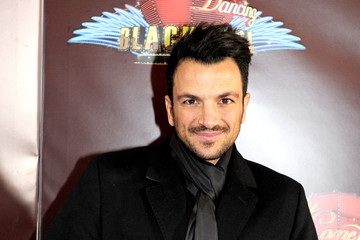 Peter Andre Strictly Blackpool - Red Carpet Arrivals