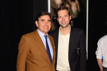 Peter Brant Remo Ruffini, Moncler Chairman And Kevin Robert Frost, amFAR CEO Host Private Viewing And Dinner For Art For Love: 32 Photographers Interpret The Iconic Moncler Maya Jacket