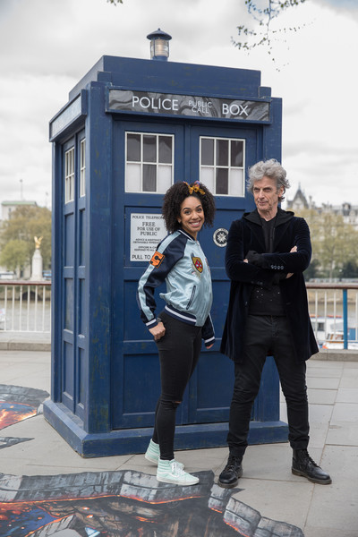 Peter Capaldi and New u0027Doctor Whou0027 Companion Pearl Mackie Pose in Costume With the  sc 1 st  Zimbio & Peter Capaldi Photos Photos - Peter Capaldi and New u0027Doctor Who ...