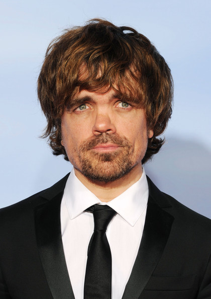 69th Annual Golden Globe Awards - Press Room [motion picture,mini-series,best performance by an actor in a supporting role,hair,facial hair,hairstyle,beard,chin,suit,forehead,human,moustache,white-collar worker,series,peter dinklage,award,room,press room,made for television,golden globe awards]