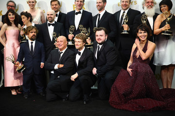 Peter Dinklage Maisie Williams 67th Annual Primetime Emmy Awards - Press Room