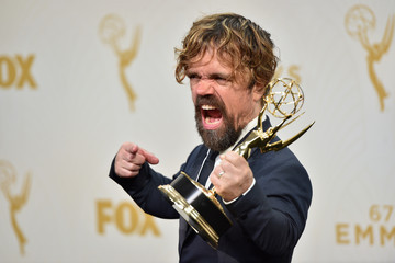 Peter Dinklage 67th Annual Primetime Emmy Awards - Press Room