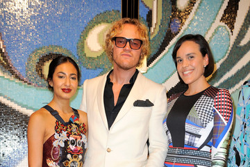 Peter Dundas Bisazza Wears Emilio Pucci Cocktail Reception