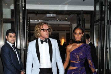 Peter Dundas Met Gala 2015 Departures From The Mark Hotel - NYC