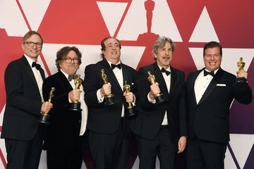 Peter Farrelly Brian Currie 91st Annual Academy Awards - Press Room