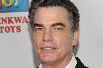 Peter Gallagher Arrivals at the Les Girls Benefit
