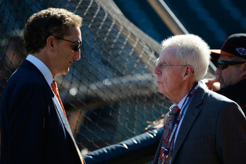 Peter Gammons NLCS - St Louis Cardinals v San Francisco Giants - Game One