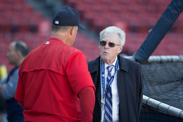 Peter Gammons Tampa Bay Rays v Boston Red Sox