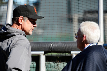 Peter Gammons NLCS - St Louis Cardinals v San Francisco Giants - Game Two