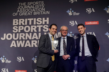 Peter Jackson SJA British Sports Journalism Awards