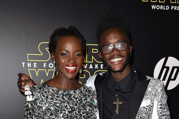 Peter Nyong'o Premiere of 'Star Wars: The Force Awakens' - Red Carpet