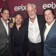 Peter Roth Los Angeles Premiere Of Epix's 'Pennyworth' - Red Carpet