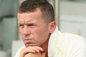 Peter Siddle Pakistan vs. Australia: 2nd Test - Day Four