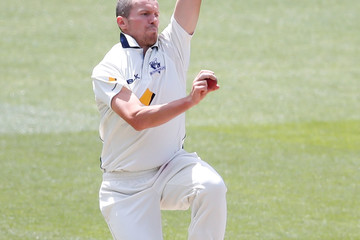 Peter Siddle VIC v QLD - Sheffield Shield: Day 2