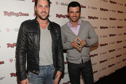 Dancers Maksim Chmerkovskiy and Tony Dovolani arrive at the Peter Travers and Editors of Rolling Stone Host Awards Weekend Bash at Drai's Hollywood on February 26, 2011 in Hollywood, California.