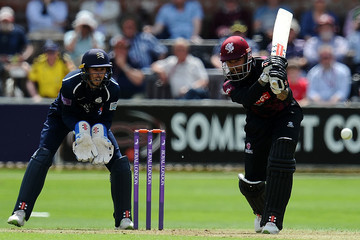 Peter Trego Somerset vs. Middlesex - Royal London One-Day Cup