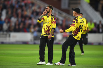 Peter Trego Nottinghamshire Outlaws v Somerset - NatWest T20 Blast Quarter-Final