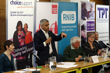 Peter White London Mayoral Candidates Attend Disability Hustings