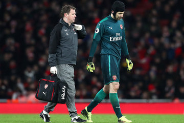 Petr Cech Arsenal v Everton - Premier League