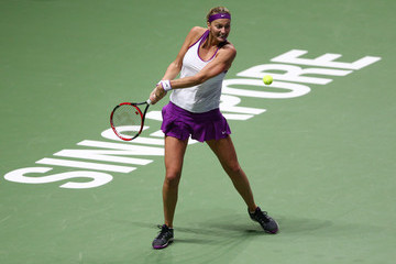 Petra Kvitova BNP Paribas WTA Finals: Singapore 2015 - Day Six