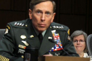 Holly Petraeus Petraeus Testifies At His Senate Confirmation Hearing For CIA Director