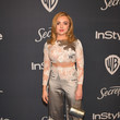 Peyton List The 2020 InStyle And Warner Bros. 77th Annual Golden Globe Awards Post-Party - Red Carpet